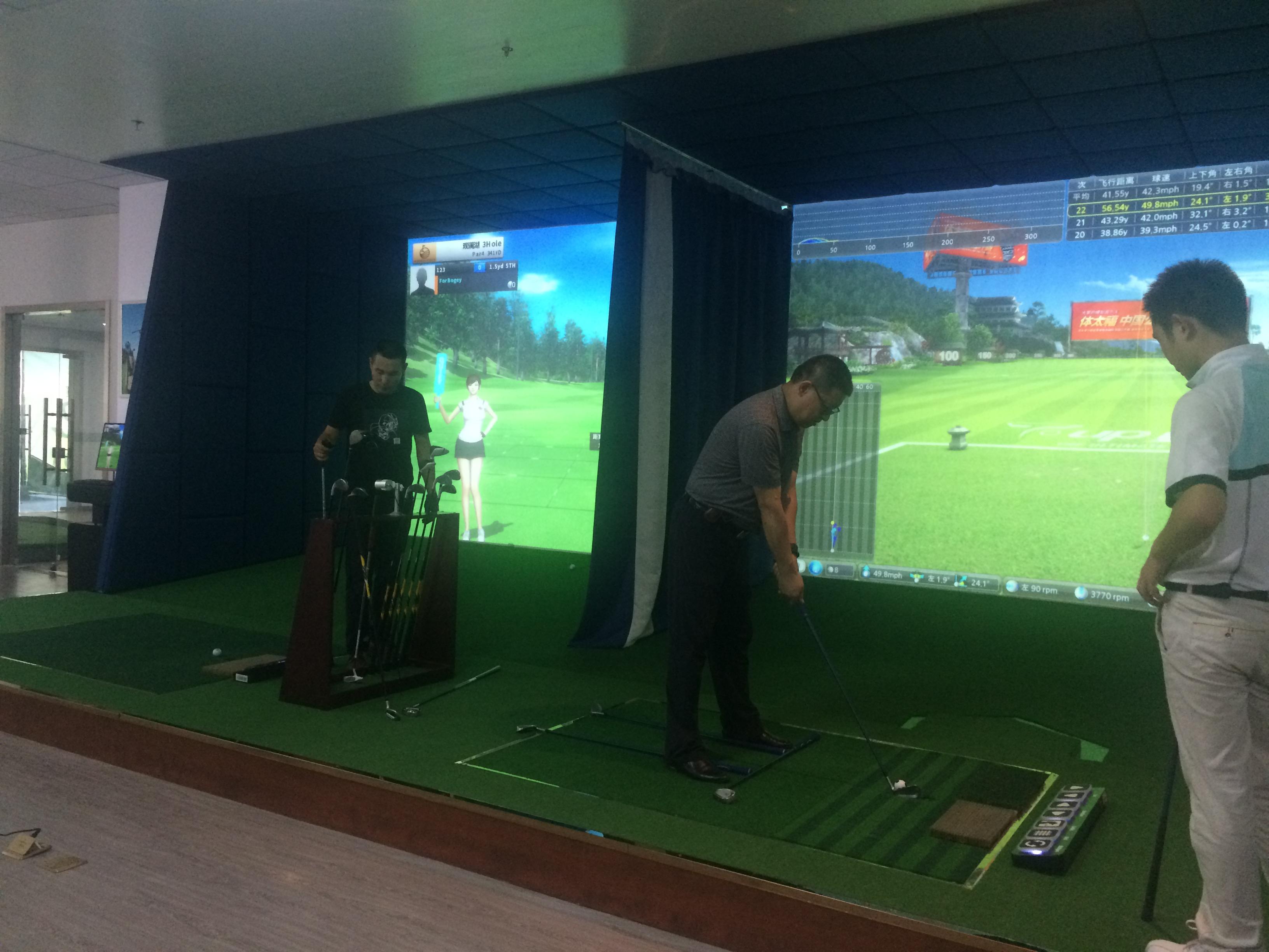 杭州室内高尔夫教学培训